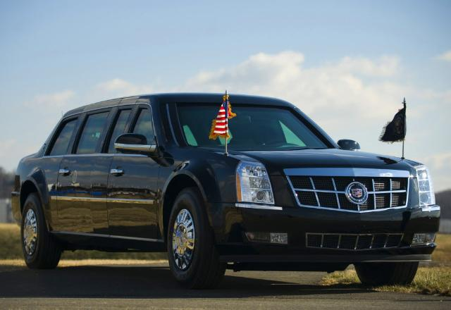 the beast of a limo
