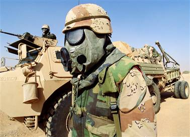 GAS MASKS AND THE 1st GULF WAR (1/3)