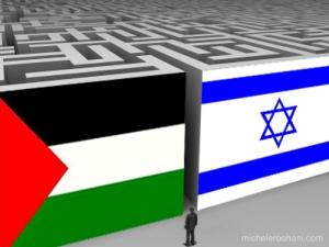 israel-palestine-war-peace maze
