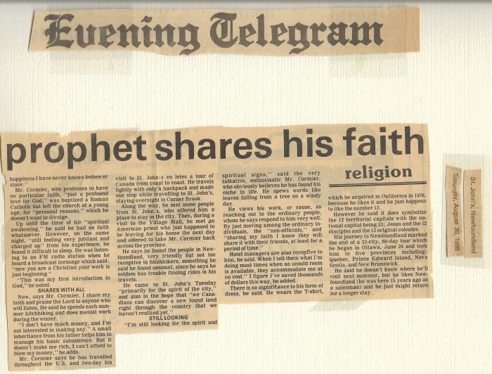 St. John's Evening Telegraph August 30, 1986 2
