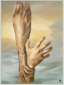 saving hand of god
