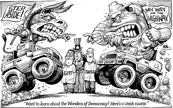 Forced Democracy