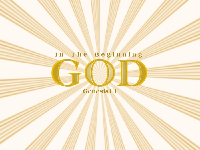 god_in the beginning