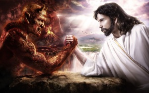 Christ vs anti-Christ